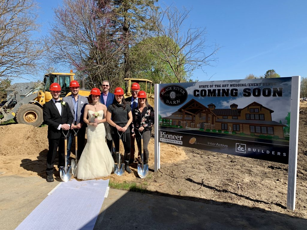 New Lakeshore Wedding Venue Ground Breaking